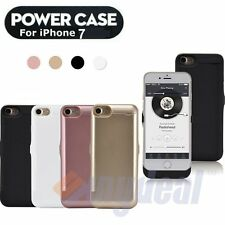 10000mAh For iPhone 7 External Battery Backup Charging Bank Power Case Cover