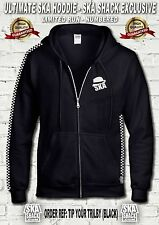 SKA HOODIE - Exclusive to Ska Shack, Ltd Edition, Numbered. Very High quality.