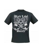 BLACK LABEL SOCIETY - CROSSED AXES - OFFICIAL MENS T SHIRT