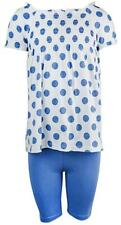 Girls Dress Top Leggings Toddler Ruche Gypsy Polka Dot Outfit 9 Months - 4 Years