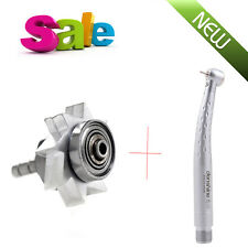 Dental High Fast Speed E-generator self-power LED Handpiece Push 2/4 holes NEW