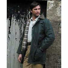 Hoggs Of Fife Waxed Jacket (Adult) Padded - OLIVE GREEN