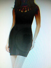 Kardashian Kollection Women's Sheath Dress Cut -Out Neck