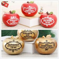 1pc Christmas Xmas Large Apples Christmas Party Craft Decoration 3 Types