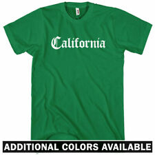 California Gothic T-shirt - Men S-4X - Gift Los Angeles San Francisco Diego Cali