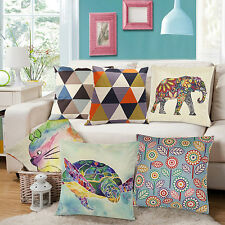 Fashion Square Linen Throw Pillow Case Cushion Cover Home Sofa Decoration Showy