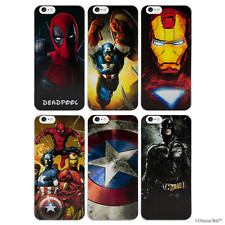 """Case/Cover Marvel Comics Apple iPhone 7 (4.7"""") + Screen Protector / Hard Back"""