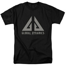 Eureka TV Show GLOBAL DYNAMICS LOGO Licensed Adult T-Shirt All Sizes
