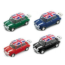 Model Mini Cooper Car USB 2.0 Flash Drive 4GB 8GB 16GB 32GB 64GB Memory Stick
