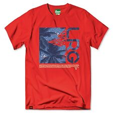 NEW LRG LRG STAY PALM FILL TEE - RED J171014