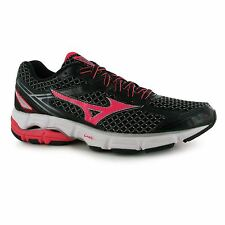 Mizuno Wave Connect 3 Running Shoes Womens Blk/Pnk Trainers Sneakers Sports Shoe