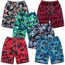 Mens Swimming Board Shorts Swim Floral Shorts Trunks Swimwear Beach Summer Boys