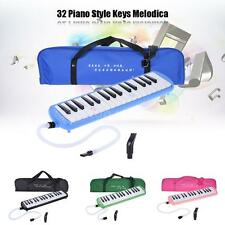 QIMEI 32 Piano Keys Melodica with Carrying Bag Black Pink Blue Green M7E5