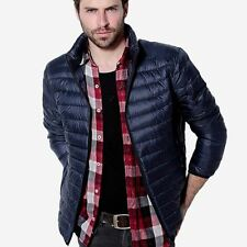 Mens Autumn Winter Duck Down Jacket Men Solid Breathable Jackets Men Outdoors Co