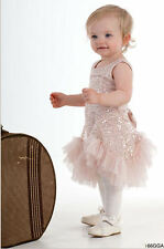 Biscotti Glitz & Glam Champagne Easter Toddler Infant Girls Dress NWT 12 18 24 4