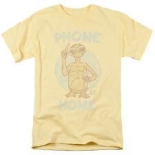 E.T. ET Extra-Terrestrial Movie PHONE HOME Vintage Style Adult T-Shirt All Sizes