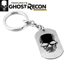 Tom Clancy's Ghost Recon Wildlands Skull Chain Necklace Pendant Collectible Gift