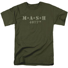 MASH TV Show DISTRESSED LOGO Licensed Adult T-Shirt All Sizes