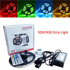 NonWaterproof 5050 RGB SMD 300 LED Flexible Strip Light + Remote + Adapter XL1
