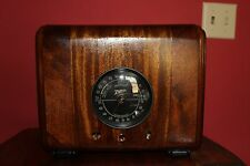 1938 Zenith cube table radio Restored Updated with MP3 Input