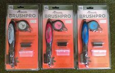 FROGGER BRUSHPRO NEW Golf Bag Accessories Red Grey Blue