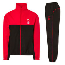 Nottingham Forest FC Official Football Gift Mens Jacket & Pants Tracksuit Set