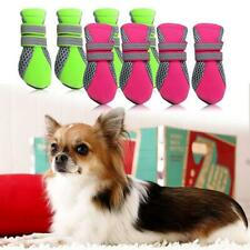 Pet Dog Puppy Waterproof Outdoor Travel Anti-Slip Protective Boots Shoes 4 Sizes