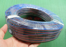 New RGB 4 Pin Extension Wire Connector Cable Cord For 3528/5050 RGB LED Strip
