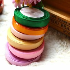 "Sewing 5/8'' Yards Single 3/8"" Wrapping Ribbon Satin Handicraft Wedding"