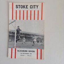 1960's  Stoke City  Football Programmes - Various Fixtures  Batch 2