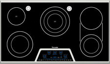 """Thermador CES366FS 36"""" Stainless Smoothtop Electric Cooktop NOB #4549"""