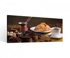 Canvas 1 Pcs Coffee Cafe Beans Kitchen Eat Pictures Mural Tea Cup 9B775