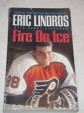 Fire on Ice by Eric Lindros (1992, Paperback)