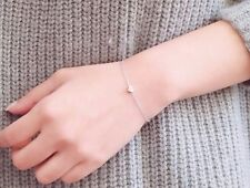 New Fashion Silver Plated Delicate Simple Silver Chain Bracelet For Women