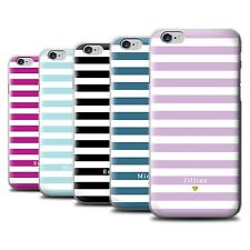 Personalised Custom Stripes/Striped Phone Case Apple iPhone 6+/Plus 5.5/Cover