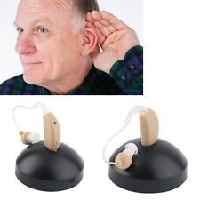 Rechargeable Hearing Aids Sound Voice Amplifier Behind The Ear