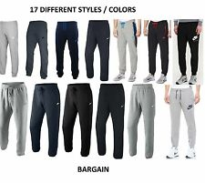 Mens Nike Fleece Joggers, Tracksuit Bottoms, Track Sweat Jogging Pants New