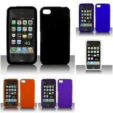 For Apple iPhone 4/4S Silicone Case Gel Rubber Slim Grippy Skin Cover