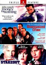 Money for Nothing/Disorganized Crime/Another Stakeout (DVD, 2011, 2-Disc Set)NEW