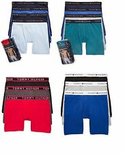 Tommy Hilfiger Men's Cotton Classics Boxer Brief, Stretch Boxer 3-Pack or 4-Pack