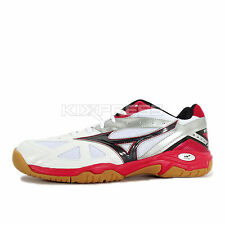 Mizuno Wave Gate 3 [71GA164009] Volleyball Badminton White/Black-Red