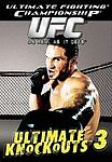 UFC Ultimate Knockouts 3 (DVD, 2004) Ultimate Fighting Championship BRAND NEW