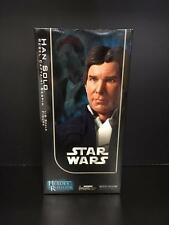 "Sideshow STAR WARS: Han Solo Rebel Captain: Bespin 12"" Figure - MIB"