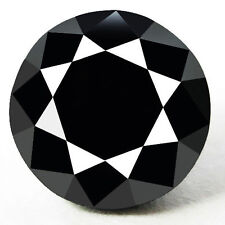 0.85 Cts. CERTIFIED Round Black AAA Quality Loose Natural Diamond Wholesale Lot