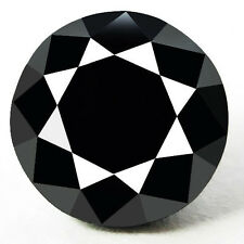0.70 Cts. CERTIFIED Round Black AAA Quality Loose Natural Diamond Wholesale Lot