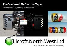 Reflective Self Adhesive Safety Tape Motorcycle Bike Pannier 50mm x 5m