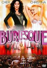 New/Sealed! BURLESQUE - Cher / Christina Aguilera (2011, DVD) Rated: PG-13