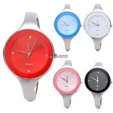 Hot Fashion Women Lady Stainless Steel Simple Charming Wrist Watch Bracelet ED01