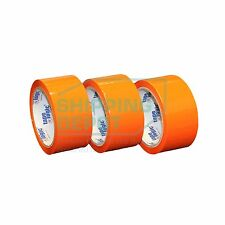 "1-72 Rolls 2x55 ORANGE Colored Packing Carton Sealing Tape 2"" x 55yds 2inX165ft"