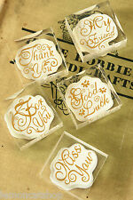 acrylic Valentine MESSAGE Crystal Stamps retro gift scrapbooking rubber stamp BN